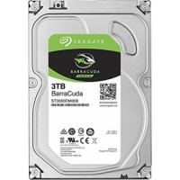 Seagate 3TB BarraCuda SATA 6Gb/s 64MB Cache 3.5-Inch Internal Hard Drive | ST3000DM008