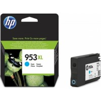 HP 953XL High Yield Cyan Original Ink Cartridge | F6U16AE