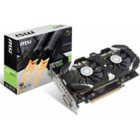 MSI GeForce Nvidia GTX 1050TI 4G OC Afterburner Dual Fans Computer Video Card | 912-V809-2493