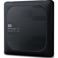 WD 3TB My Passport Wireless Pro Portable External Hard Drive - WIFI USB 3.0 | WDBSMT0030BBK-NESN
