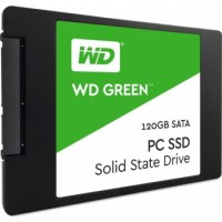 Western Digital 120GB Green SATA III 2.5 Inch Internal SSD Drive | WDS120G1G0A-00SS50