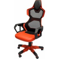 E-Blue Cobra-R Gaming Chair High Grade PU Leather PC Racing Bucket Seat Office Ergonomic Computer eSports Desk Executive | EEC307RE