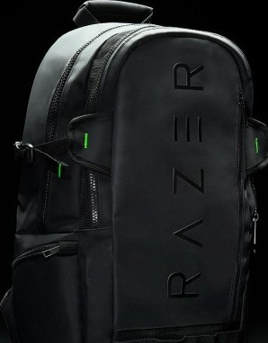 Razer Rogue 15.6 Inches Backpack   Black ( Tear And Water Resistant Exterior,  Protective