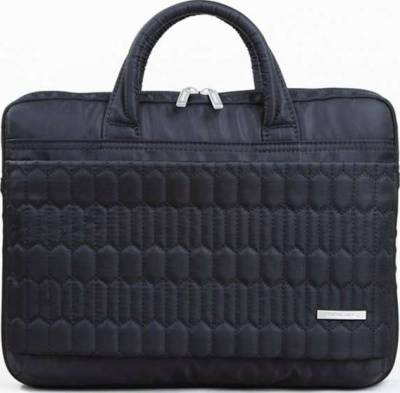"KingSons Electra Series 13.3"" Laptop Shoulder Bag (Black) 