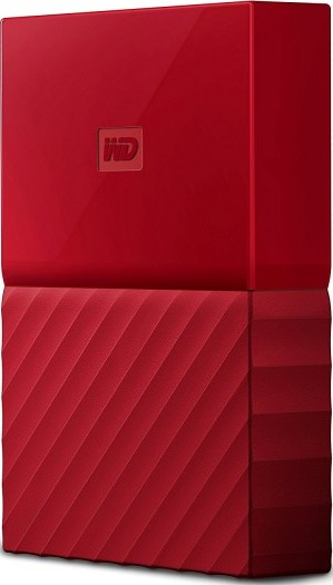 Wd 4tb Red My Passport Portable External Hard Drive Usb