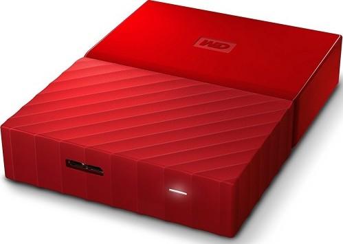 Wd 4tb Red My Passport Portable External Hard Drive Usb