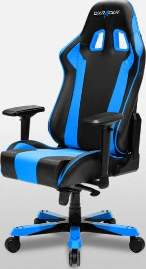 Dxracer King Series Gaming Chair Black Amp Blue Oh Ks06 Nb