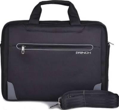 Brinch BW-199 15.6-Inch Messenger Bag (Black) | BW-199
