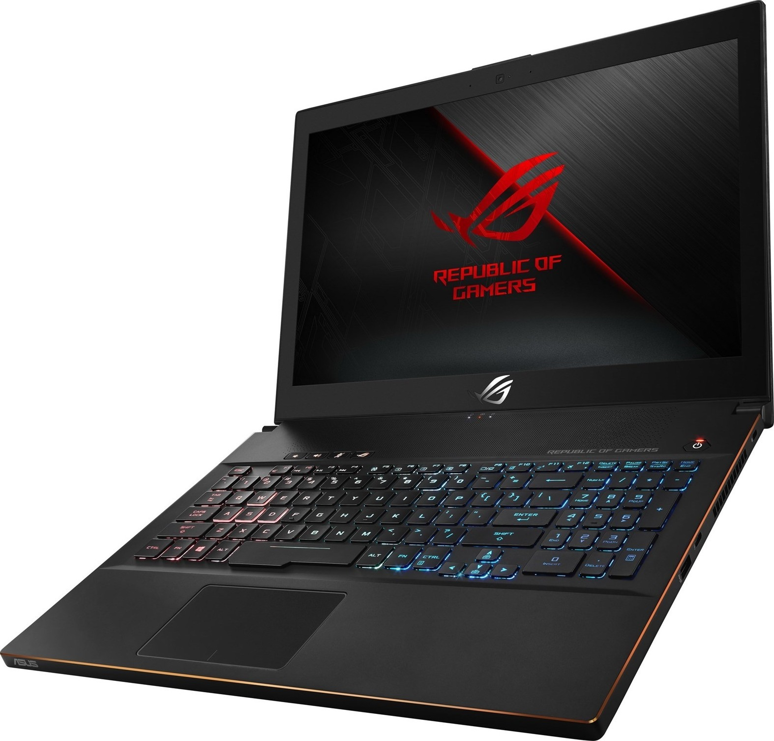 Asus Gm501gs Ei005t Zephyrus I7 8750h 22 Ghz 16gb Ram 1tb Frame Keybord Laptop X 455 Casing