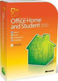 Microsoft Home & Student 2010 retail pack