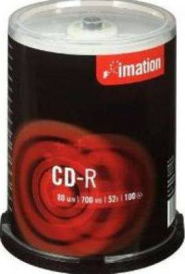 Imation CD-R 52x  100 Pack Spindle