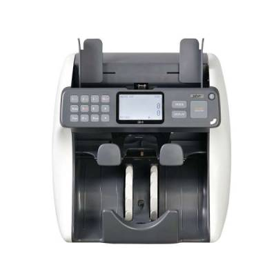 SBM SB-9 BankNote Discrimination Counter Counting Machine 2 Pockets Machine, Up to 10 Currencies, UV/MR/MG/IR | SB-9