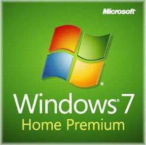 Windows 7 Home Premium SP1 64bit Full System Builder DVD 1 Pack
