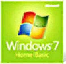 Microsoft Windows 7 Home Basic OEM 32-Bit