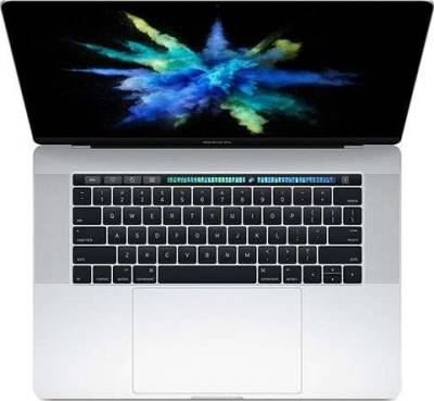 Apple MacBook Pro 15-Inch with Touch Bar and Touch ID (2.9GHz I7 7th Gen, 16GB, 512GB SSD, 4GB Graphics, Silver, English KB, Facetime with Four Thunderbolt 3 ports) | MPTV2LL/A