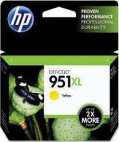 HP 951XL Yellow Officejet Ink Cartridge | CN048AE