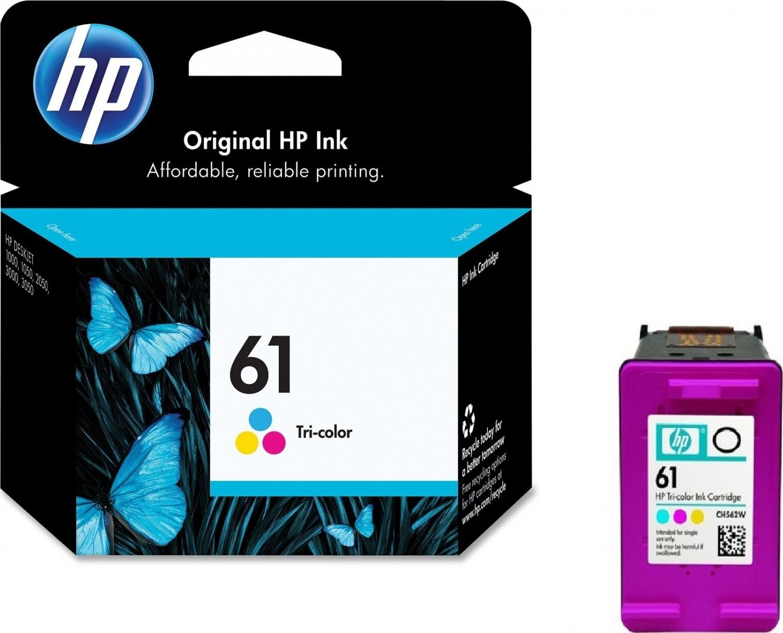 Hp 61 Tri Color Original Ink Cartridge Ch562wa Buy Best Price In Canon Cl 41 Colour