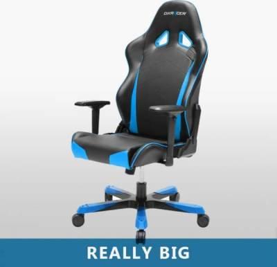 DXRacer Tank Series Gaming Chair Black/Blue | OH/TS29/NB