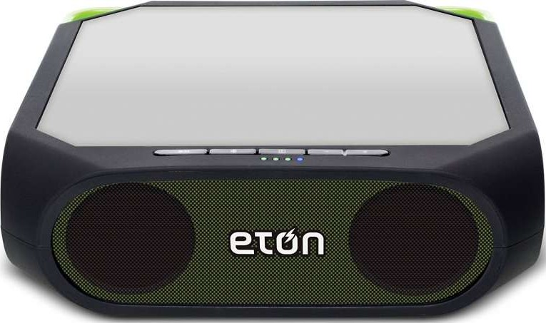 eton rugged rukus green solar powered bluetooth ready. Black Bedroom Furniture Sets. Home Design Ideas