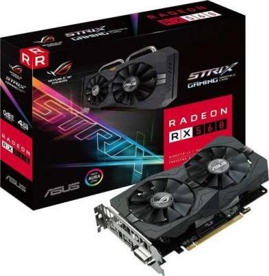 Asus Strix Radeon RX 560 OC Edition Gaming Graphics Card DirectX12 Freesync 4GB GDDR5 DVI/HDMI 2.0/Display Port 1.4 | 90YV0AH1-M0NA00