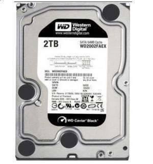 WD Black 2TB Performance Desktop Hard Drive: 3.5-inch, SATA 6 Gb/s, 7200 RPM, 64MB Cache WD2002FAEX