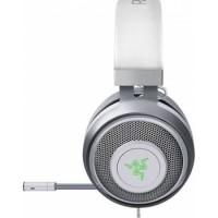 Razer Kraken 7.1 V2 Oval Ear Cushions Noise Isolating Surround Sound Digital Gaming Over-Ear RGB Headset with Mic (Mercury White)   RZ04-02060300-R3M1