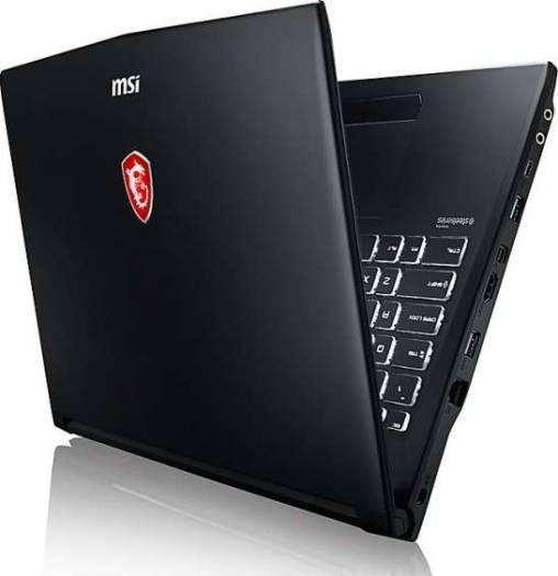 MSI GL62M 7REX 15.6 Inch Wide View FHD,Anti-Glare,Black/Arabic,( Intel Core i7-7700HQ,2.8 GHz,8GB,1TB +128GB SATA SSD,GeForce GTX 1050 Ti,GDDR5 4GB,802.11 AC+BT 1x1,6 Cell,13IN1,W10MH) | 9S7-16J962-20