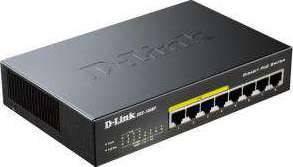 DGS-1008P/E DLink 8-Port Gigabit Ethernet PoE Switch