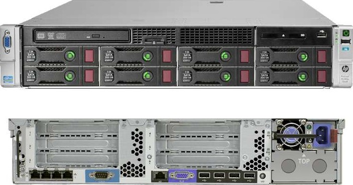 HP ProLiant DL380p Gen8
