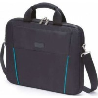 Dicota Slim Case BASE 14-15.6 Functional and Lightweight Notebook Bag Black/Blue | D30997