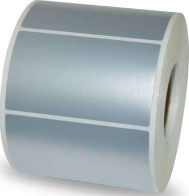 VOID 50/25mm Synthetic 1000 Label - Silver