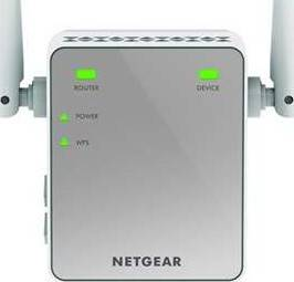 NETGEAR EX2700 Wall-Plug WiFi Booster/Range Extender (300Mbps N) | NG-EX2700-100UKS