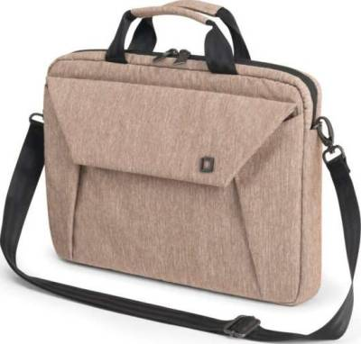 Dicota Slim Case EDGE 12-13.3 Sandstone Stylish and Slim Notebook Case with Tablet Pocket | D31240