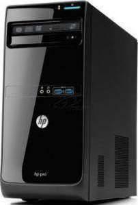 HP Pro 3500M Desktop (Intel Core i3 2.3ghz, 500 GB, 4 GB, DOS, Black)