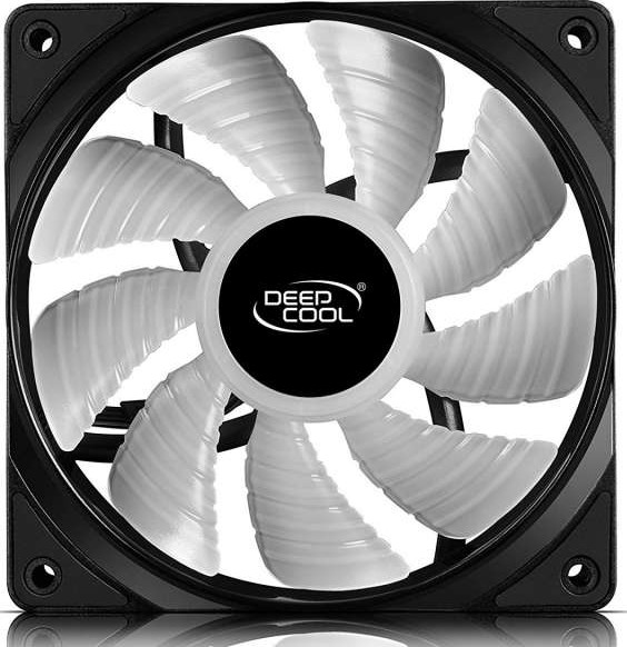 Deepcool Rf120 3in1 3x120mm Rgb Led Pwm Fans With Fan Hub