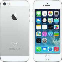 Apple iPhone 5S 64GB LTE (White/Silver)