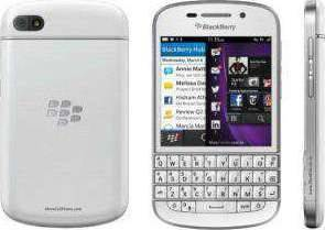 BlackBerry Q10 LTE White