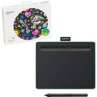 Wacom Intuos S Bluetooth Creative Pen Tablet – (Small, Pistachio Green) | CTL-4100WLE-N