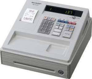 Sharp XE-A137 Electronic Cash Register