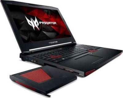 "Acer Predator 15 Black (Intel Core i7 2.6GHz 32GB 2TB+256GB SSD 15.6"" Full HD IPS 8GB GTX 1070 Bluetooth Camera DVD±RW Windows 10 English/Arabic) 