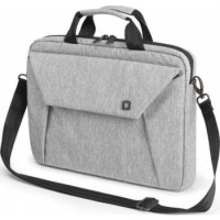 Dicota Slim Case EDGE 12-13.3 Light Grey Stylish and Slim Notebook Case with Tablet Pocket | D31241