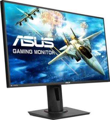 "ASUS 27"" Full HD 1080p 144Hz 1ms DP HDMI DVI Eye Care Gaming Monitor with FreeSync/Adaptive Sync 