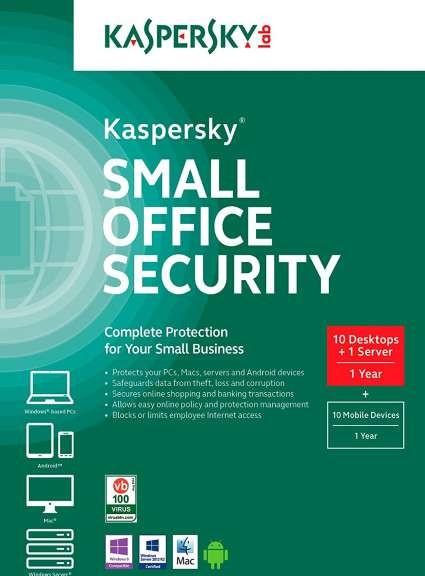 Kaspersky Small Office Security 10 Desktop 1 Server Buy