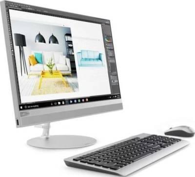 "Lenovo IdeaCentre All-in-One Desktop 520-22IKU-F0D5008RAX Silver (Core i5-8250U–1.6GHz 21.5"" FHD Touch 8GB RAM 1TB HDD Wi-Fi Webcam DVD±RW 2GB NVIDIA Windows 10 with Keyboard + Mouse) | F0D5008RAX"