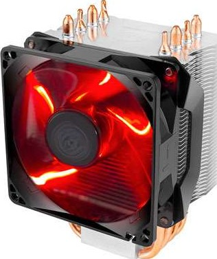 Cooler Master Hyper H410r With 92mm Red Led Pwm Fan