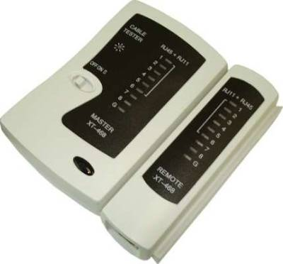 Network Cable Tester For RJ45 and RJ11