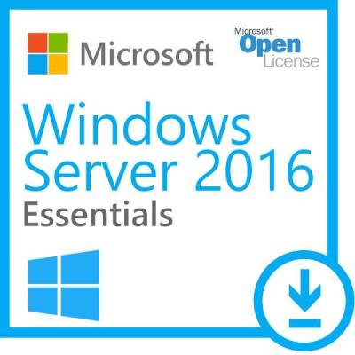 Microsoft Windows Server 2016 Essentials Open License Program No Level Single | G3S-01015