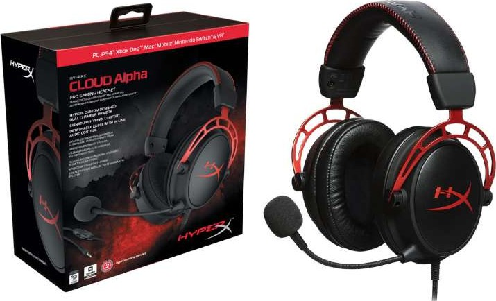 Hyperx Cloud Alpha Gaming Headset For Pc Ps4 Amp Xbox One
