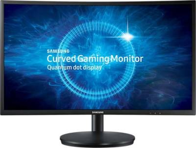 "Samsung 27"" Curved Gaming monitor 1800R Screen Curvature 16:9 Aspect Ratio 350cd/m2 Brightness (Typical) 3,000:1 (Typ.) Contrast Ratio Static 1920 x 1080 Resolution 1 (MPRT) Response Time 