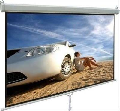 "iView M180 Manual Projector Screen 180 x 180 cms (96"" Diagonal)"